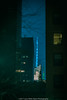 Leave A Light On (jomak14) Tags: architecturaldetails manualfocus microfourthirds minoltarokkor58mmf12 newyork olympusep2 vintagelens bokeh themundane windows bankofamericatower