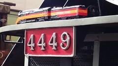 Tony Sava 4449 Daylight visits 4449 Daylight (Daddy Ogre) Tags: lego train tonysava brickscascade2017 texas technic orhf 4449 starlight steam locomotive