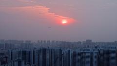 DSC00020_DxO_LR (teckhengwang) Tags: landscape sunrise singapore hdb