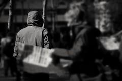 De paseo por las Ramblas (Angeles h) Tags: blancoynegro monocromatico calles nikon7100 street barcelona lasramblas ramblas