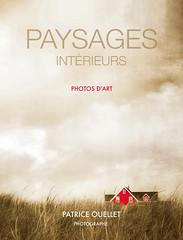 Paysages intérieurs - Photos d'art (Couverture) (patrice ouellet) Tags: patricephotographiste paysagsintérieurs couverturedelivre ebook photosdart