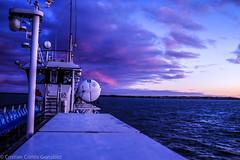 21:30 (kriphoto) Tags: mar oceano estrecho magallanes barco color azul anochecer sunset sea boat