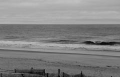 Oceanscape from Atlantic View  (1) (Neil DeMaster) Tags: ocean sea atlantic atlanticocean delaware beach water saltwater oceanscape seascape deweybeach blackandwhite shore