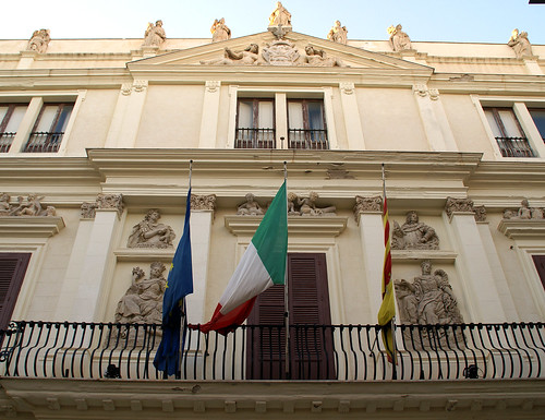 Trapani, Via Garibaldi, Palazzo Riccio da Morana
