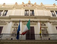 Trapani, Via Garibaldi, Palazzo Riccio da Morana (HEN-Magonza) Tags: trapani sizilien sicily sicilia italien italy italia viagaribaldi palazzoricciodamorana