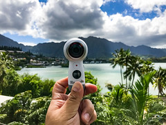 samsung new gear360 360camera hawaii