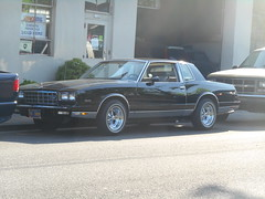 Chevrolet Monte Carlo (Pete Waffleburger) Tags: gm general motors generalmotors chevrolet chevy monte carlo montecarlo mc gbody 1981 1982 1983 1984 1985 1986 1987 1988 1980s 80s era cragar wheels white wall walls tire tires curb curbside parked street parking american antique automobile classic car original vintage vehicle north portland oregon 97203 st johns stjohns saintjohns 503 nlombard ptown northportland pdx pnw pacific northwest pacificnorthwest