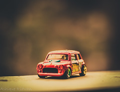 miniature_car_red (Ashique Ridwan) Tags: car outdoor miniature toned toy bangladesh dhaka gorgeous asian red black light sun street macro