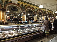 Shopping for Chocolate (phxdailyphotolady) Tags: london england harrods shopping chocolate foodhalls retail