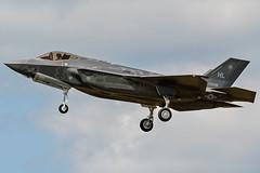 F-35A Lightning II 34th FS 14-5098 HL (Vortex Photography - Duncan Monk) Tags: lockhead martin f35 f35a stealth joint strike fighter lightning ii usaf usafe raf lakenheath suffolk england hill afb hl utah usa jet aircraft aviation aerospace 145098 5098 united states airforce air force royal