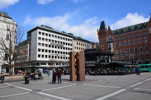 Norrmalmstorg square (Stockholm, Sweden 2017)