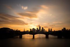 Mainhattan Sunset (Haussmann Visuals) Tags: frankfurt mainhattan sunset