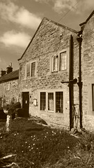 Hawksworth House, Eyam   -   April 2017 (dave_attrill) Tags: hawksworth house jane 25 family members died eyam derbyshire peak district hope valley 11th century village bubonic plague breakout 1665 rev william mompessom anglo saxon roman lead mining 260 deaths main road rd architecture outdoor stonework historic mid 17th cottages cottage april 2017 national park white mines domesday book