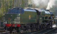 46100 Royal Scot's visit to the NYMR (Kev's.Pix) Tags: royalscot 46100 steamtrain steamlocomotives northyorkshire northyorksmoorsrailway grosmont