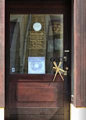 Friseur (judith74) Tags: brandenburg uckermark templin tür door