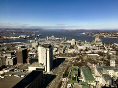 Quebec City (alliejehle) Tags: quebec city canada montreal cityscape landscape beautiful water ocean lake stlawrenceriver river