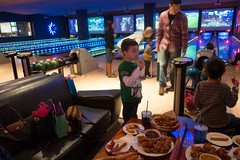 Everyong having fun bowling-21 (gswartz_photo) Tags: attractions birthday birthdayparty bowling brian characters cole coleman event family friends jutton littlebear luckystrike marcus moy sports stormtrooper swartz arcade darkside fun games shirt starwars