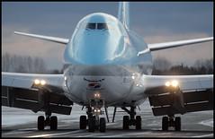 HL7438 - Copenhagen Kastrup (CPH) 17.12.2009 (Jakob_DK) Tags: 2009 cph ekch copenhagen kastrup flyvergrillen copenhagenkastrup kal korean koreanair koreanairlines koreanairlinescargo koreanaircargo boeing boeing747 747 b747 747400 jumbo jumbojet 747400f cargo