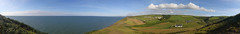 Mwnt 270° (Treflyn) Tags: panoramic view panorama cardigan bay mwnt west wales ceredigion