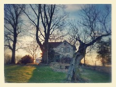 life ain't no fairy-tale.... (BillsExplorations) Tags: fairytale grim abandoned decay forgotten shuttered sunset dusk abandonedhouse abandonedillinois ruraldecay old dream oncewashome foggy