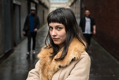 Ella (Charles Hamilton Photography) Tags: streetportrait glasgow glasgowstreetphotography trongate backstreet urbanscene citycentre colourstreetportrait peopleinthecity portraitofgirl primelens naturallight nikond750 50mm eyecontact lane portrait style fashion charleshamilton