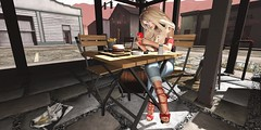 ❤️  What's up? (ℒιdsα) Tags: wasabipills hungrycats pixicat reign dafnisclothes itdoll doll sl secondlife strawberry cell cellphone call girl avatar lotd fries sandwich snackbar cafe red cute beauty beautiful fashion collabor88 c88 release blog blogger blonde whatsup whatsapp