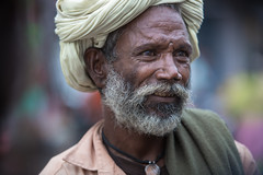 Inde: portrait au Rajasthan. (claude gourlay) Tags: inde india asie asia claudegourlay retrato ritratti portrait people homme rajasthan baral turban