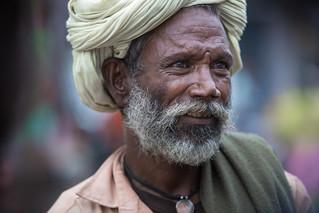 Inde: portrait au Rajasthan.