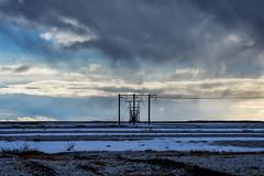 Landscape with poles (Nicola Demegni) Tags: 2017 islanda iceland nicolademegni landscape naturephotography nikonphotography nikonitalia natgeo