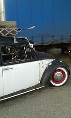 noch n halber Käfer (QQ Vespa) Tags: käfer dachgepäckträger vw volkswagen 1200 1300 weiswandreifen buggy oldtimer beatle vintage old car auto classic