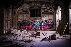 Party's Over.....  Detroit (IV2K) Tags: detroit michigan urban urbanexporation urbex motorcity motorcityshooters ruins graffiti nychos nothingstopsdetroit sony rx1 sonyrx1 thed 35mm zeiss