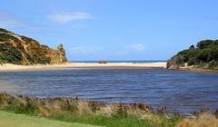 Painkalac Creek (Graham`s pics) Tags: painkalaccreek aireysinlet greatoceanroad victoria australia travel tourism tourist holiday vacation adventure sightseeing water sea seafront beach ocean coast