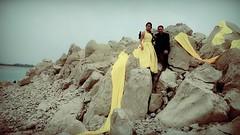 Rohid Ali Khan and Zara Malik in YELLOW (Rohid Ali Khan) Tags: rohid ali khan maproductions mapro zara malik adhoorey khuwaab shahid sheikh khalid butt romantic song pehli muhabbat khanpur dam pakistani actor bollywood insight movie