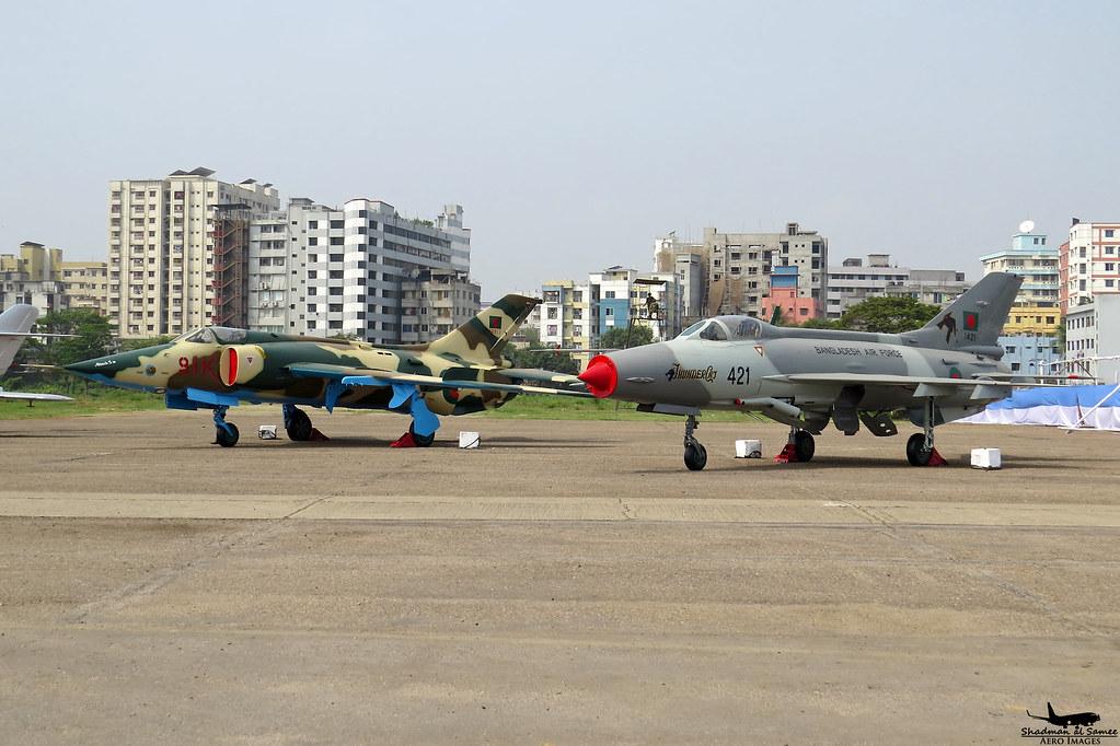 Bangladesh Air Force F 7MB And A 5C Samee55 Tags