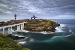 Illa Pancha (Tabernilla (David Izaguirre)) Tags: españa europa faro galicia ribadeo atardecer marina isla pancha islapancha lighthouse