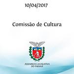 Comissão de Cultura 10/04/2017