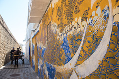 Street Art of Asilah (San on Lion Rock) Tags: morocco travel cycling 踩單車 旅行 摩洛哥 asilah street art streetpainting assilah