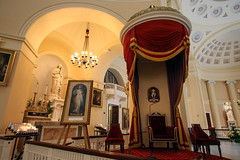 Divine Mercy Sunday (Lawrence OP) Tags: baltimore basilica cathedra throne divinemercy sunday dome