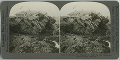 Ripped and battered to death by the enemy -- a derelict tank, Cambrai (The Library of Virginia) Tags: wwi ww1 worldwarone war military army stereograph cambrai battleofcambrai worldwari thegreatwar greatwar tank armouredwarfare armoredwarfare