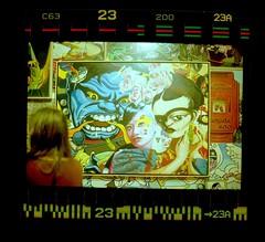 Canon FT QL (acelobb) Tags: acelobb pellicule film 35mm argentique analog couleur scan color hulk frida kahlo picture art sprockets artwork graphic negative negatif positif black 23 popart pop experiment poster agrandissement comic comics canon ft canonft
