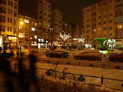 'A Winter's evening' (Eskişehir, Turkey) (Steve Hobson) Tags: eskişehir turkey winter snow illuminations