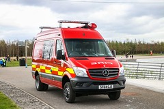 Scottish Fire & Rescue Service Water Rescue Unit/SF64 CJE (scottish_emergency_vehicles) Tags: scottish fire rescue service mercedes benz sprinter