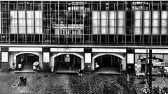 """myALEX beALEX yourALEX """"Thanks for the Flickr explore"""" (ANBerlin) Tags: explore gebäude building glas glass drausen outdoor symmetrie symmetry reflektion reflection reflexion zug train leute people städtisch urban halle hall sbahn bahnsteig platform bahnhof station infrastruktur infrastructure architektur architecture abstrakt abstract schatten shadow fenster window ausergewöhnlich extraordinary linien lines rahmen frame noiretblanc biancoenero einfarbig monochrome weis schwarz sw bw white black blackwhite alexanderplatz deutschland germany berlin mitte karlliebknechtstrase anb030 shotoniphone iphotography iphonography 6splus iphone6s iphone apple"""