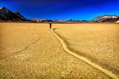 The Racetrack Playa (KPortin) Tags: deathvalleynationalpark racetrackplaya sailingstone geology rocks tracks driedmud california