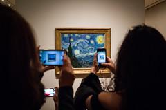 Starry Night (Phil Roeder) Tags: newyorkcity manhattan leica leicax2 museumofmodernart moma artmuseum art museum vangogh starrynight