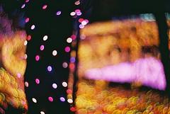 Night Scene (Shoji Kawabata. a.k.a. strange_ojisan) Tags: nikon fm2 lomography zenit new petzval lens fujicolor 100 35mm film filmphoto filmphotography lomo night nightphoto nightphotography analog analogphoto analogphotography photography photo filmcamera camera analogcamera nightscene bokeh light lights cityscape cityscapes 85mm