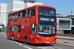 BV66 VFY (MHV66) Go-Ahead London (hotspur_star) Tags: londontransport londonbuses londonbus londonbuses2017 mcvvolvoevoseti tfl transportforlondon hybridbus hybridtechnology busscene2017 doubledeck goaheadlondon bv66vfy mhv66 45