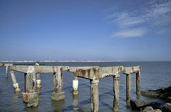 Atlantic City (Bruce.Emmerling) Tags: atlantic city pier water shore beach erosion storm waves rocks boardwalk