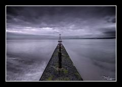 Dark (vaughaag) Tags: exmouth seaside sea seascape sky groyne sony a7 minolta 1735 classic glass long exposure longexposure
