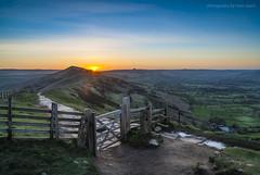 Mam Tor Sunrise (marc_leach) Tags: landscape scenic sunrise mamtor highpeak losehill peakdistrict nikon